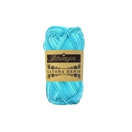 Catona Denim 165 turquoise