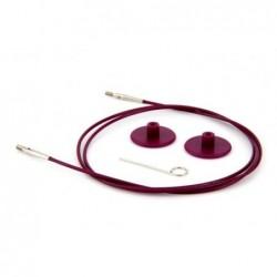 KnitPro wisselbare kabel voor 40 cm
