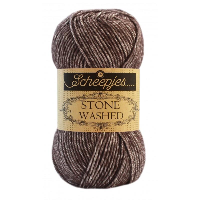 Stone washed 829 Obsidian