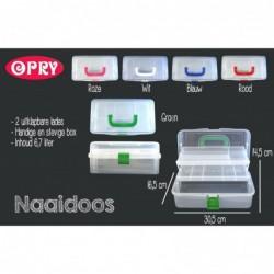 Opry Naaidoos 6,7 liter - 30,5x16,5x14,5 cm
