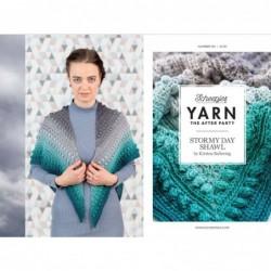 Yarn Stormy day shawl