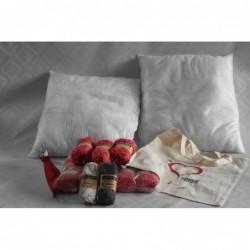 Kussencalpakket rood 807