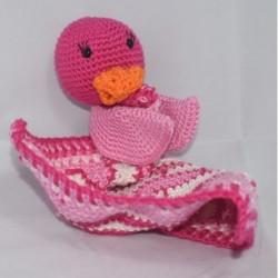 Badeend babycal pakket  roze