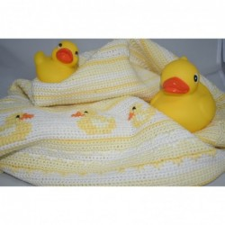 Badeend babycal pakket  geel