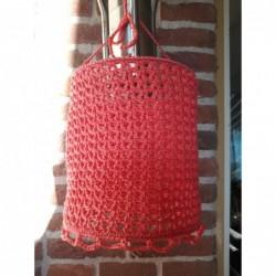 Lampion 15 cm koraal