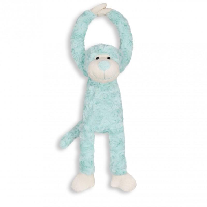 Slinger aapje, mint handjes met klittenband