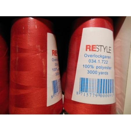 Lockgaren 3000 Yards kleur 722 rood