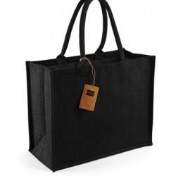 Jute tas zwart