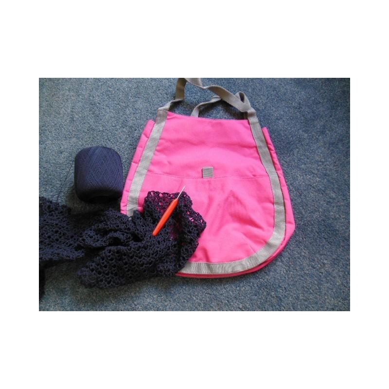 roze tas (haken)