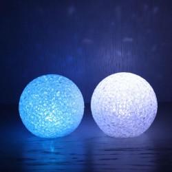 LED LICHTBAL 8CM wit
