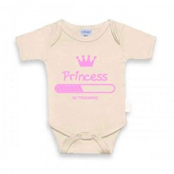 ROMPER UNI LINE CREAM Princess