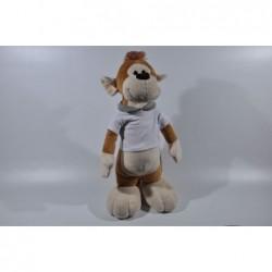 Knuffel aap staand met T-shirt