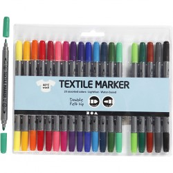 Textielstiften, lijndikte:...