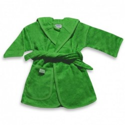 Badjas groen 4-6 jaar