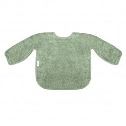 Mouwslap stone green