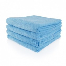 Badlaken 70 x 140 cm blauw
