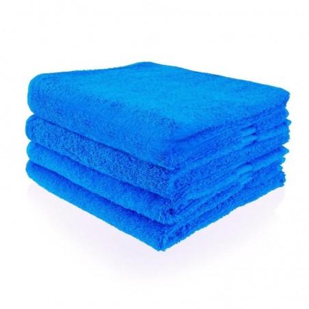 Handdoek 50 x 100 cm cobalt