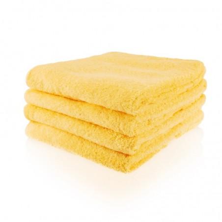 Handdoek 50 x 100 cm geel