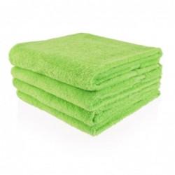 Handdoek 50 x 100 cm lime