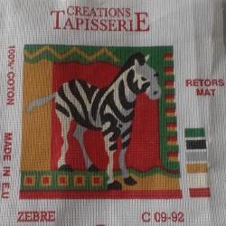 Borduur stramien zebra 15 x...