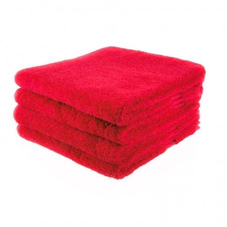 Handdoek 50 x 100 cm rood