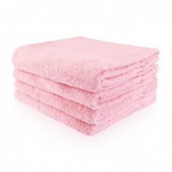 Handdoek 50 x 100 cm roze