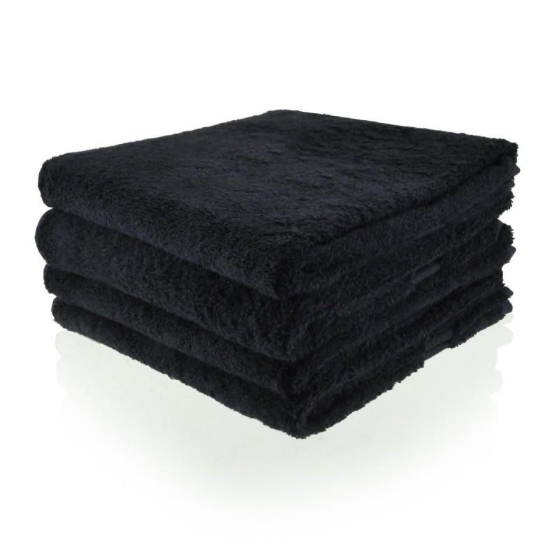 Handdoek 50 x 100 cm zwart