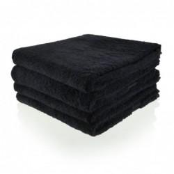 Gastenhanddoek 30 x 50 cm zwart