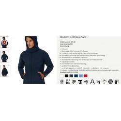 Hooded Softshell/men navy L...