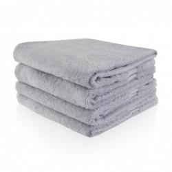 Gastenhanddoek 30 x 50 cm grijs