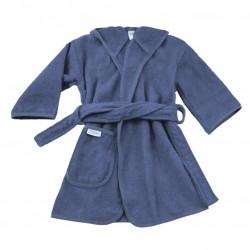 Badjas Silk blue 1-2 jaar