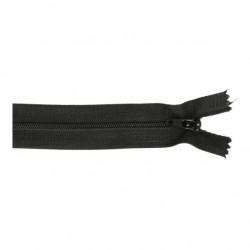 rits 30 cm zwart 580