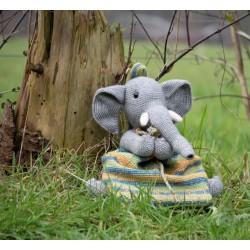 Haakpatroon olifanterugzak