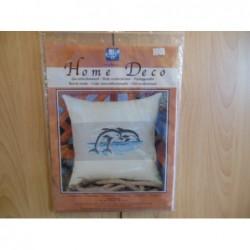 Borduurpakket Dolfijnen uit te tellen 2310/28.826 40 x 40 cm